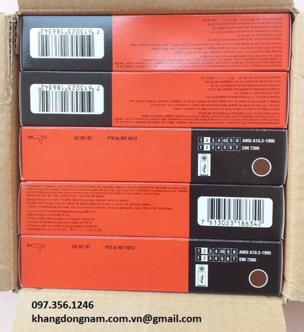 Đạn Mồi Hilti X-BT Cartridge 6.8/11 M Brown #377204 (3)
