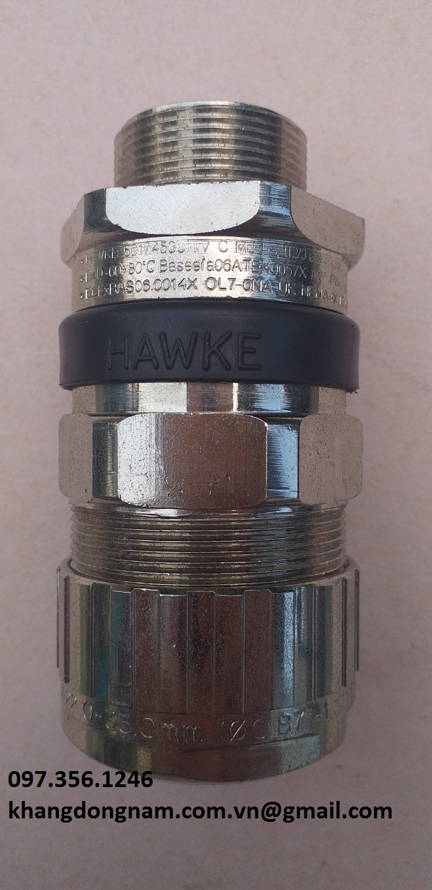 Ốc Siết Cáp Chống Cháy Nổ Hawke 501/453/Univ C M32 Mạ Nicken (1)