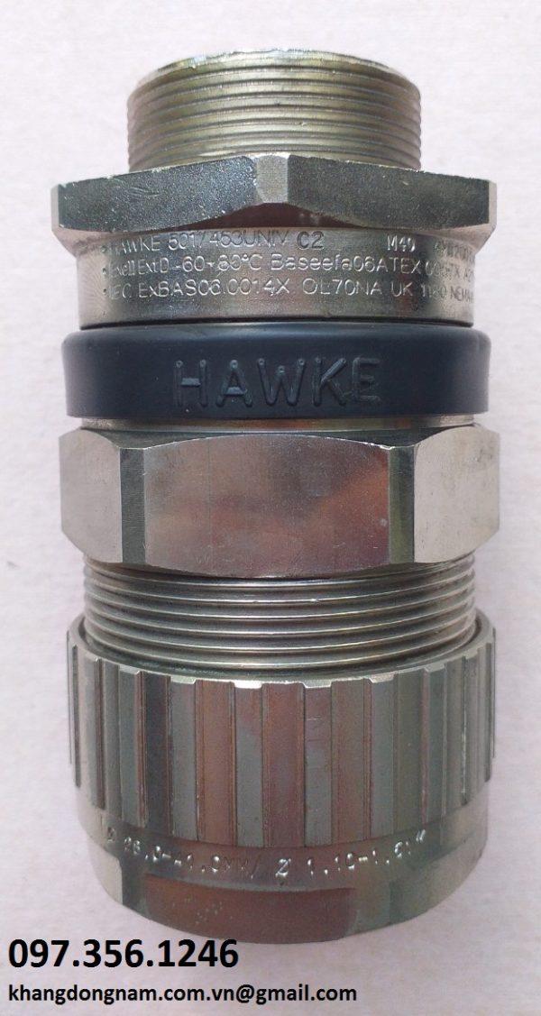 Ốc Siết Cáp Chống Cháy Nổ Hawke 501/453/Univ C2 M40 Mạ Nicken (2)