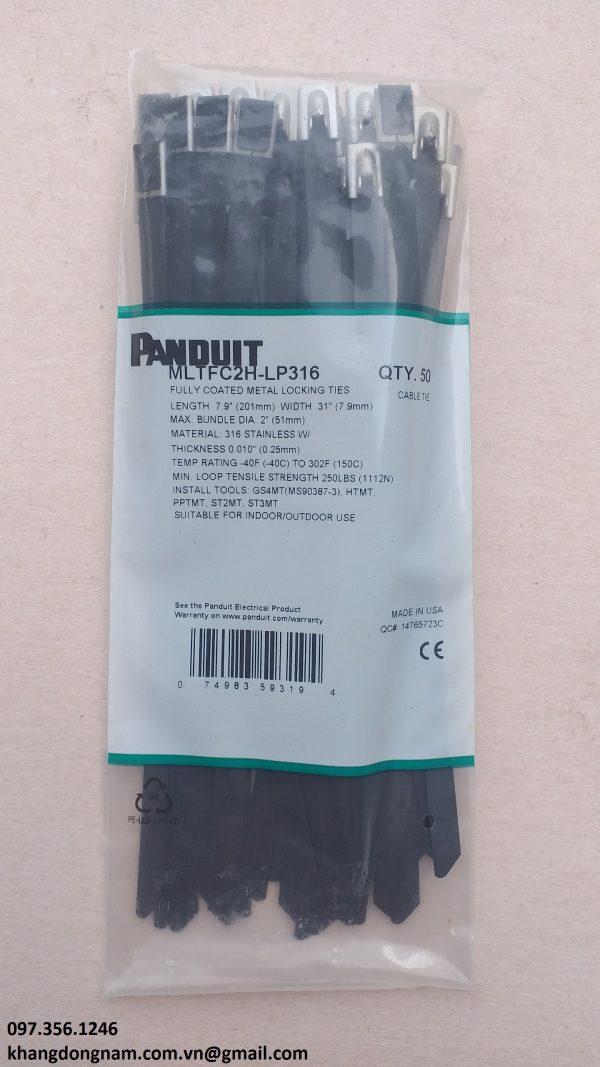 Dây Rút Panduit MLTFC2H-LP316 7.9x201mm Inox316 (1)