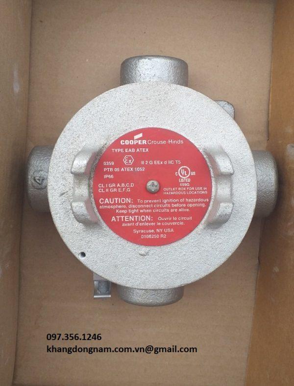 Hộp Junction Box EAB ATEX chống cháy nổ (1)
