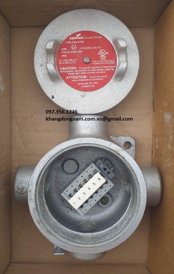 Hộp Junction Box EAB ATEX chống cháy nổ (2)