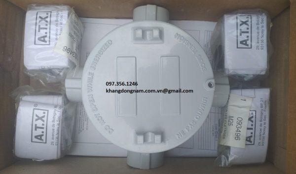 Hộp junction box ATX JBDR45G chống cháy nổ Inox (14)