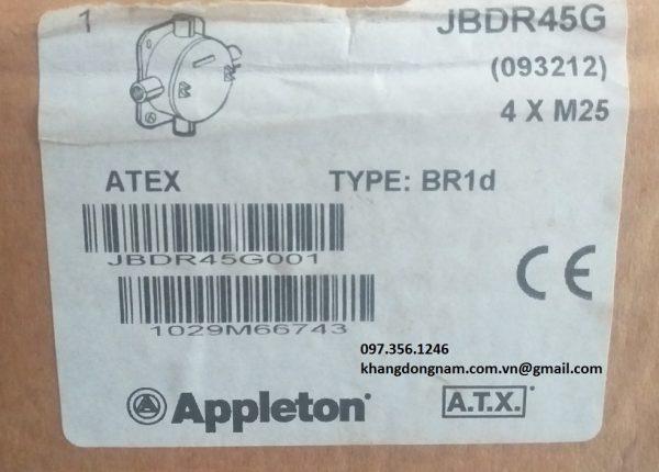Hộp junction box ATX JBDR45G chống cháy nổ Inox (2)