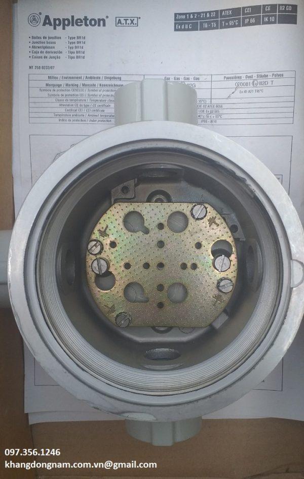 Hộp junction box ATX JBDR45G chống cháy nổ Inox (4)