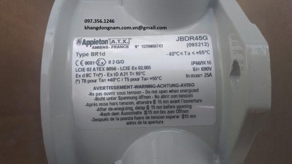 Hộp junction box ATX JBDR45G chống cháy nổ Inox (8)