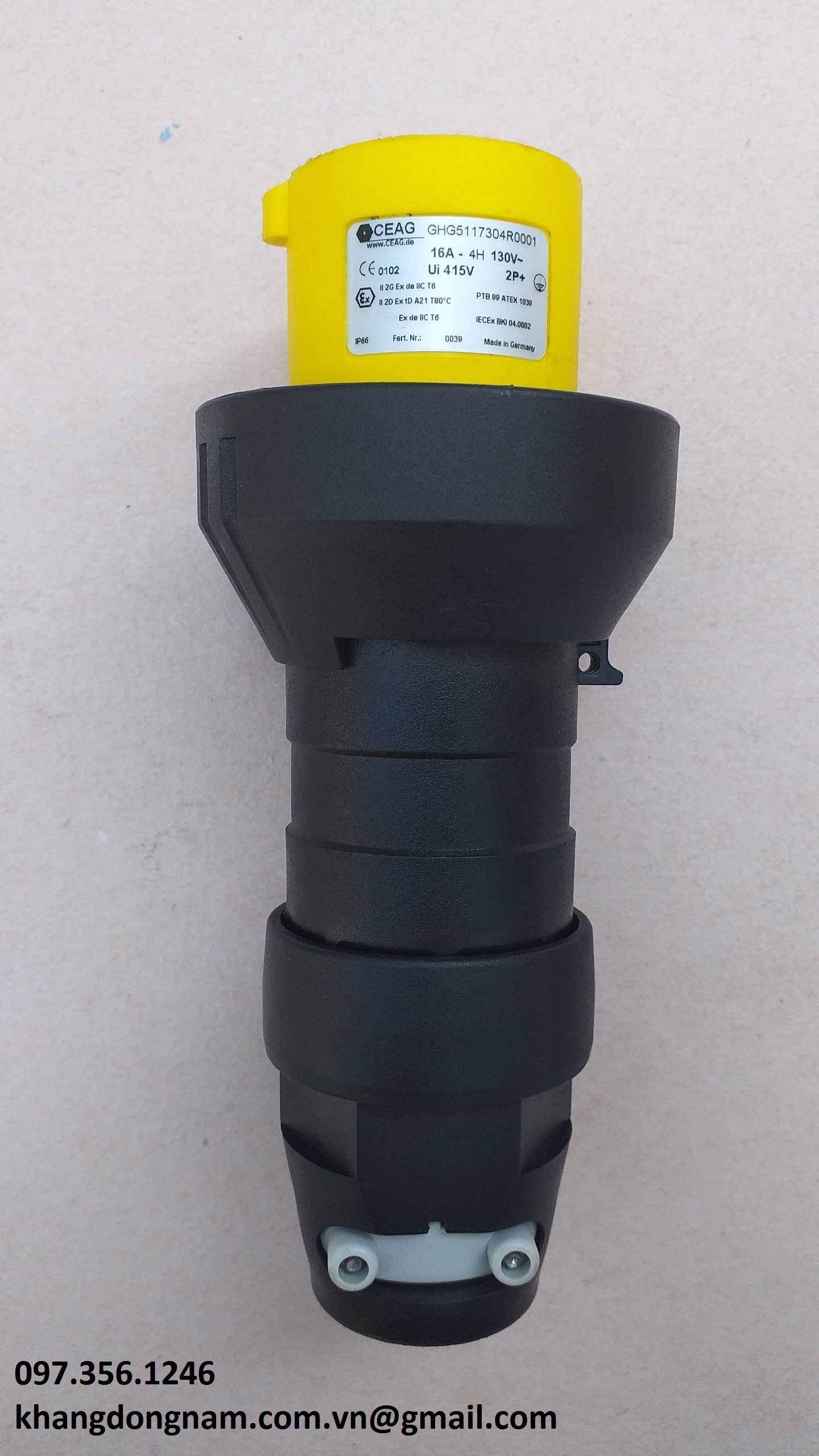 Phích cắm chống cháy nổ CEAG GHG5117304R0001 (3)