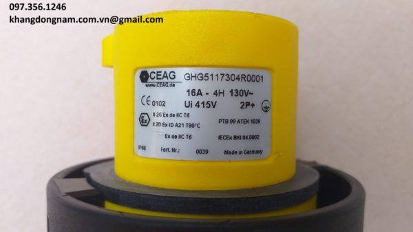 Phích cắm chống cháy nổ CEAG GHG5117304R0001 (5)