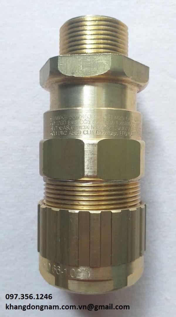 Ốc Siết Cáp Chống Cháy Nổ Hawke 501/453/Rac B M25 Đồng (2)