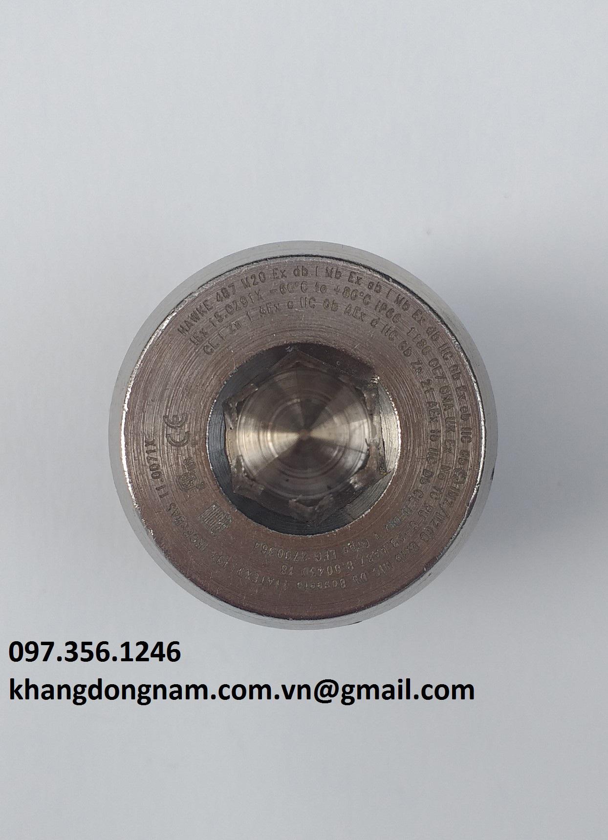 Nút bịt chống cháy nổ Hawke 487 M20 (1)