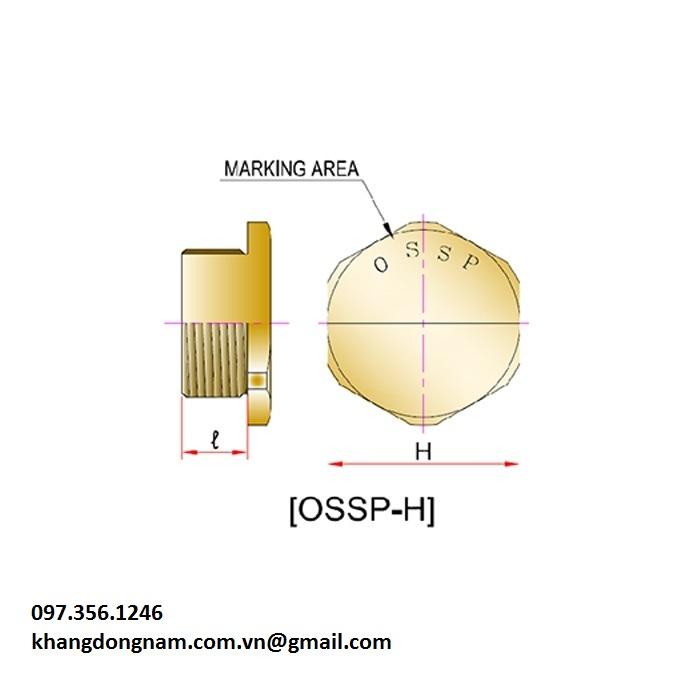 Nút bịt chống cháy nổ OSCG OSSP-H Mxx