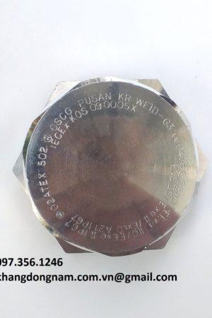 Nút bịt chống cháy nổ OSCG WEID - 63 (1)