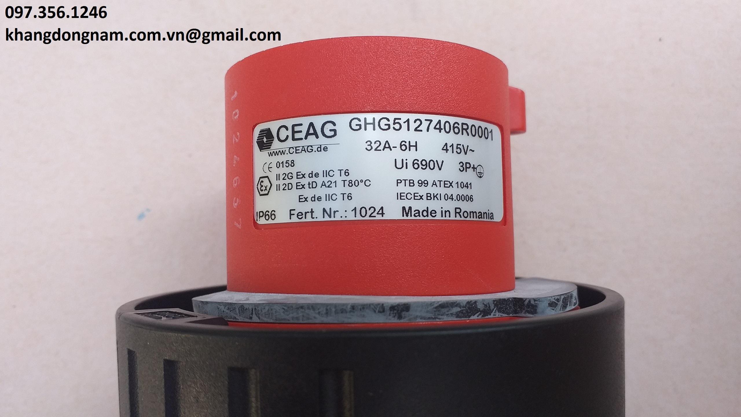 Phích cắm chống cháy nổ CEAG GHG5127406R001 (3)