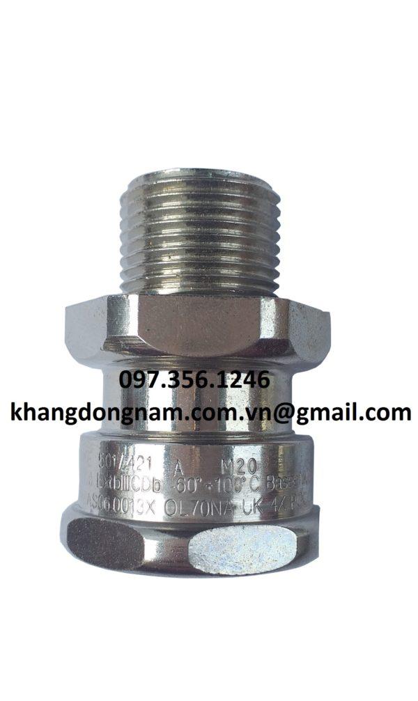 Ốc Siết Cáp Hawke 501/421 A M20 Cable Gland (3)