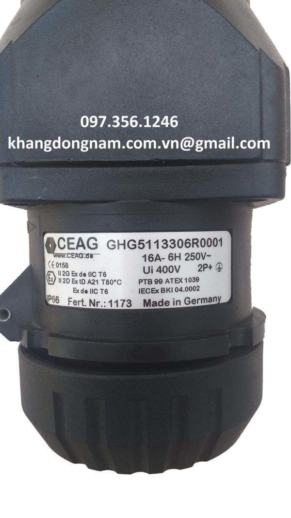 Ổ cắm chống cháy nổ CEAG GHG5113306R0001 (4)