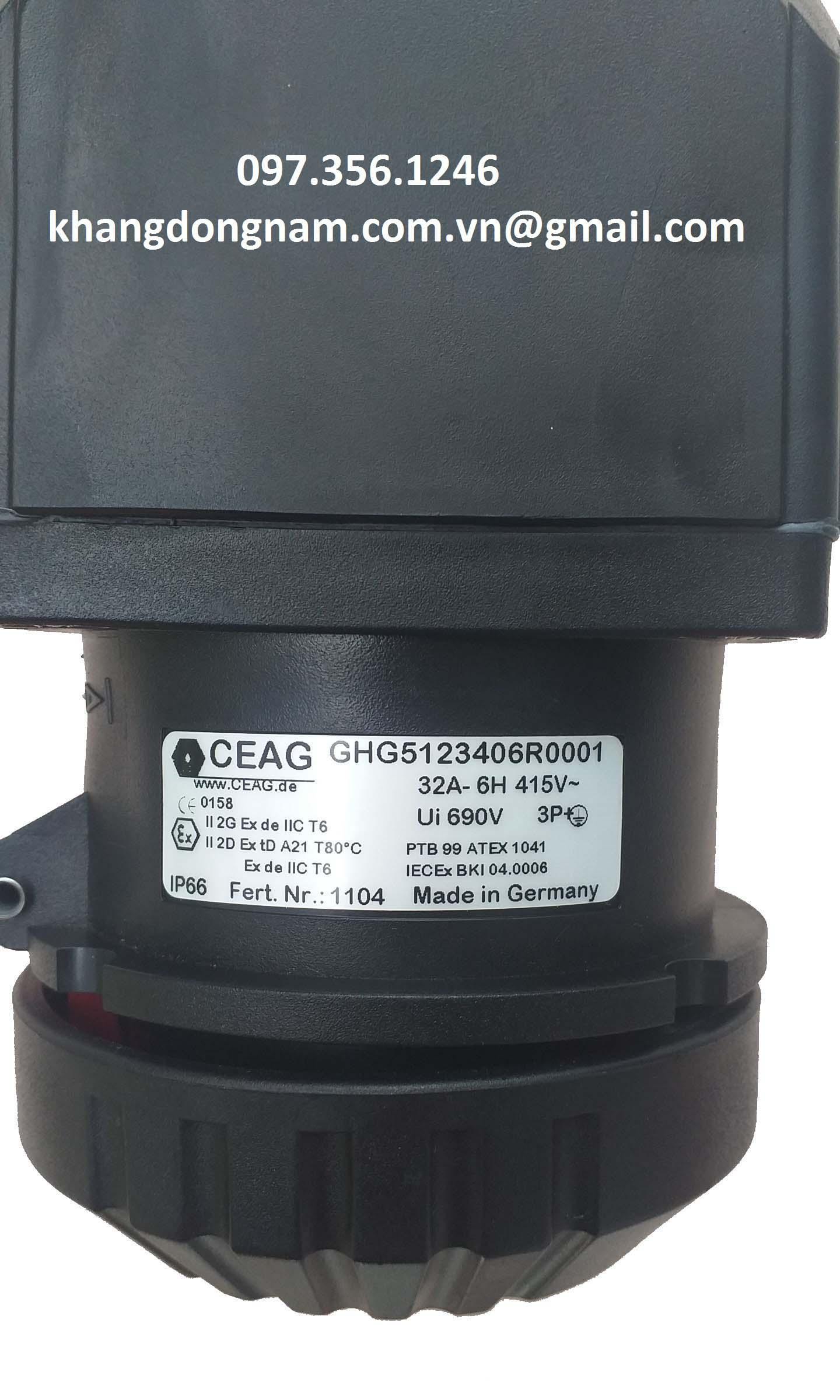Ổ cắm chống cháy nổ CEAG GHG5123406R0001 (9)