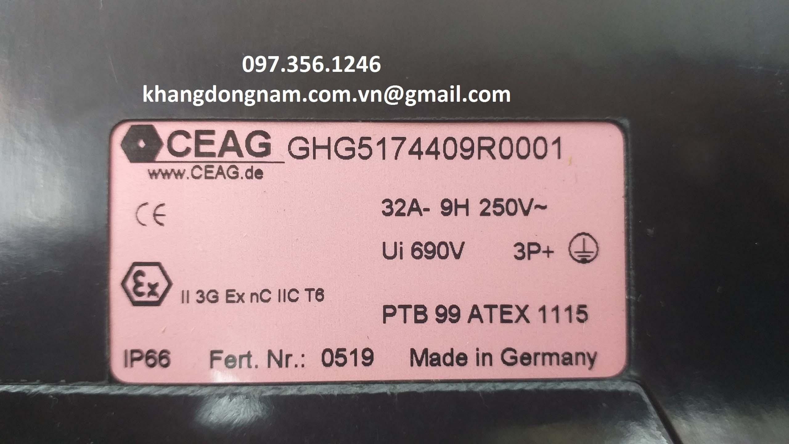 Ổ cắm chống cháy nổ CEAG GHG5174409R0001 (7)