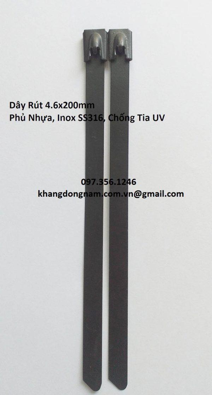 Dây Rút Phủ Nhựa Inox SS316 4.6x200mm Chống Tia UV (6)