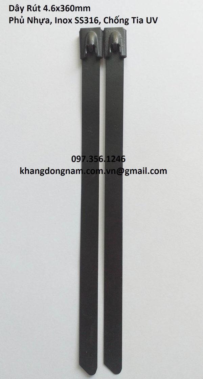 Dây Rút Phủ Nhựa Inox SS316 4.6x360mm Chống Tia UV (7)
