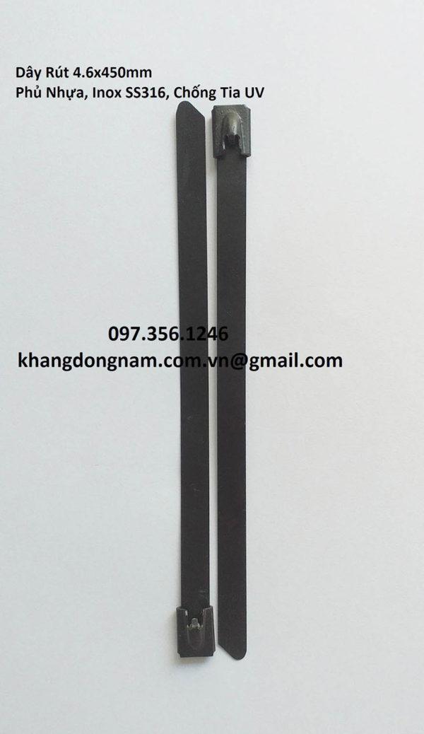 Dây Rút Phủ Nhựa Inox SS316 4.6x450mm Chống Tia UV (8)