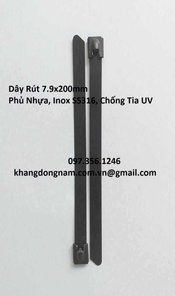 Dây Rút Phủ Nhựa Inox SS316 7.9x200mm Chống Tia UV (3)