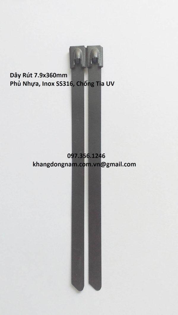 Dây Rút Phủ Nhựa Inox SS316 7.9x360mm Chống Tia UV (5)