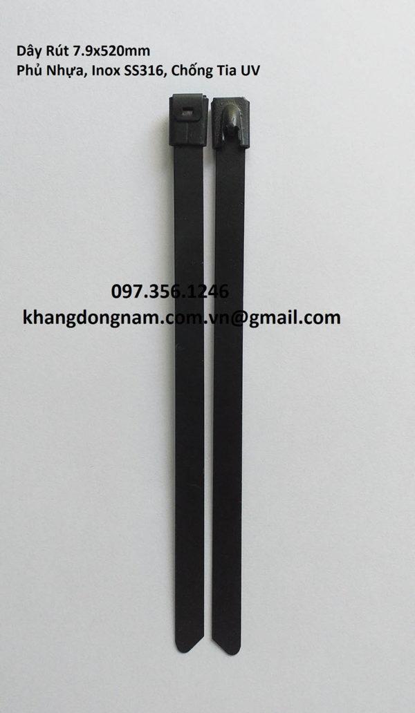 Dây Rút Phủ Nhựa Inox SS316 7.9x520mm Chống Tia UV (9)