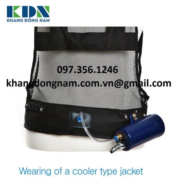 Áo Khí Làm Mát Air Jacket Cooler Type (2)