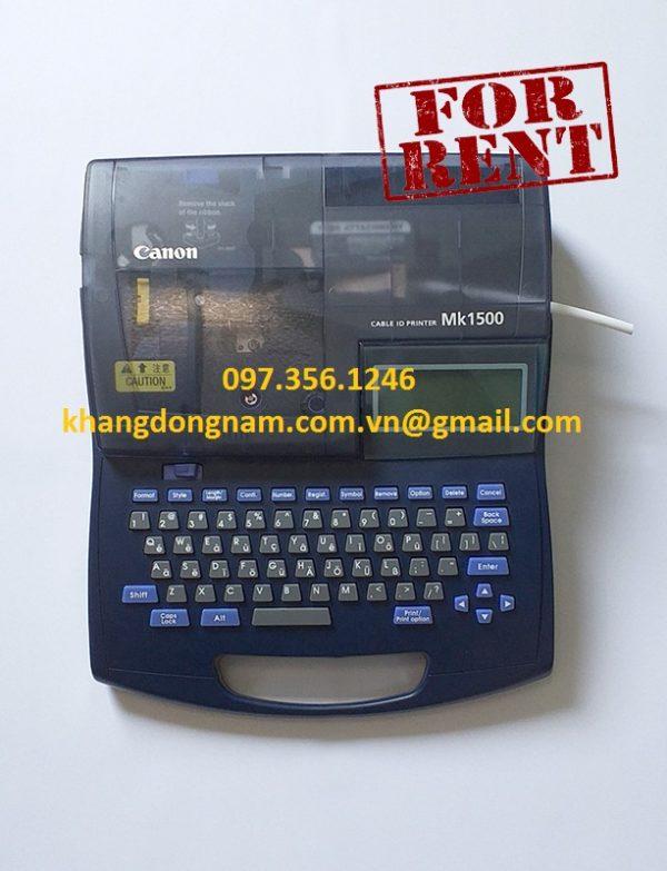 Cho Thuê Máy In Tagcore Canon MK1500 (1)