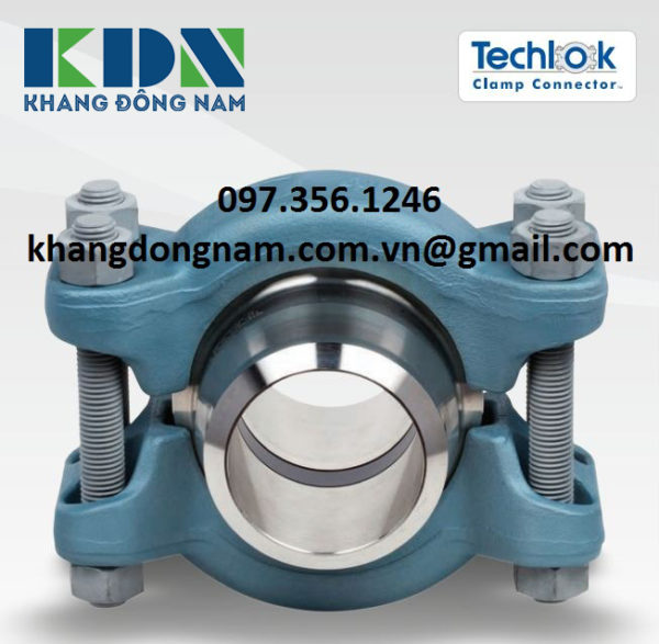 Kẹp Ống Vector Techlok Clamp AISI 4140 (6)