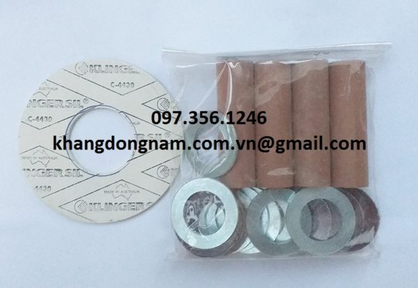 Vòng Đệm Cách Điện Gasket Insulation Kits (5)