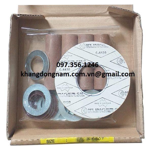 Vòng Đệm Cách Điện Gasket Insulation Kits (7)