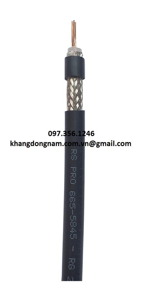 Cáp Đồng Trục RS PRO 665-5845 Black URM67 (2)