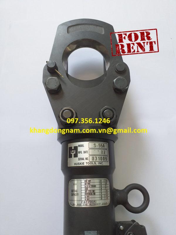 Cho Thuê Kìm Cắt Cáp Thủy Lực S-55A Huskie Tools (2)