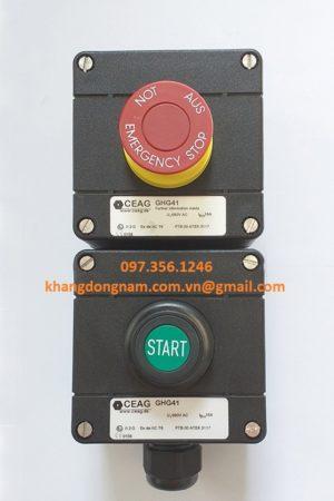 Nút Khởi Động Và Nút Dừng Khẩn Cấp CEAG GHG41 (1)