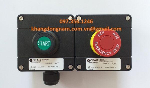Nút Khởi Động Và Nút Dừng Khẩn Cấp CEAG GHG41 (2)