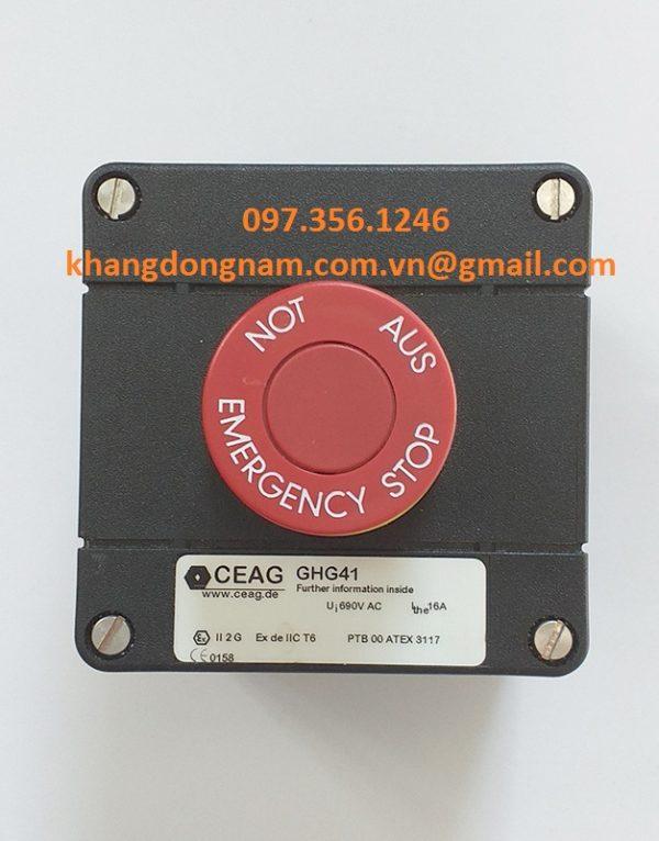 Nút Khởi Động Và Nút Dừng Khẩn Cấp CEAG GHG41 (3)