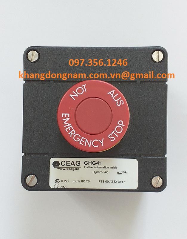 Nút Khởi Động Và Dừng Nút Khẩn Cấp CEAG GHG41 (3)