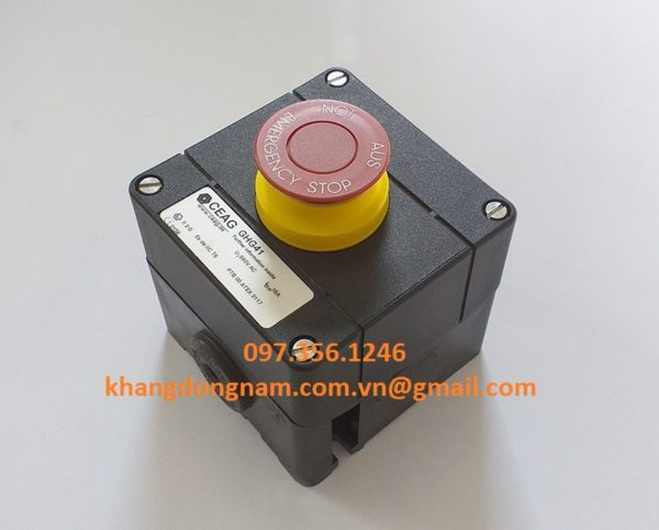 Nút Khởi Động Và Nút Dừng Khẩn Cấp CEAG GHG41 (4)