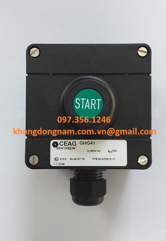 Nút Khởi Động Và Nút Dừng Khẩn Cấp CEAG GHG41 (5)