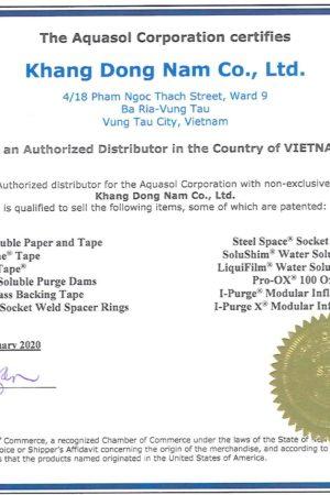 Đại Diện Chính Hãng Aquasol Welding Tại Việt Nam
