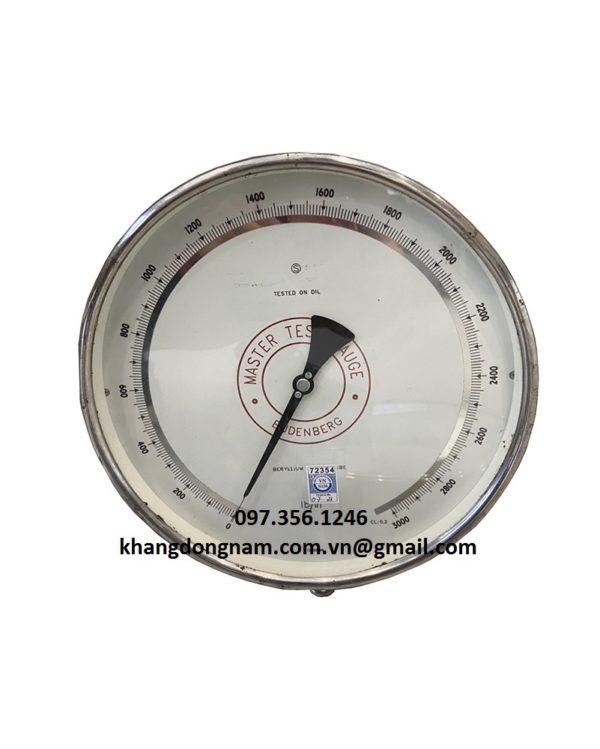 Cho Thuê Đồng Hồ Áp Lực Test Gauge 250mm (3)