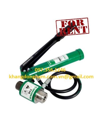 Cho Thuê Bơm Thủy Lực Cầm Tay Hydraulic Pump (2)