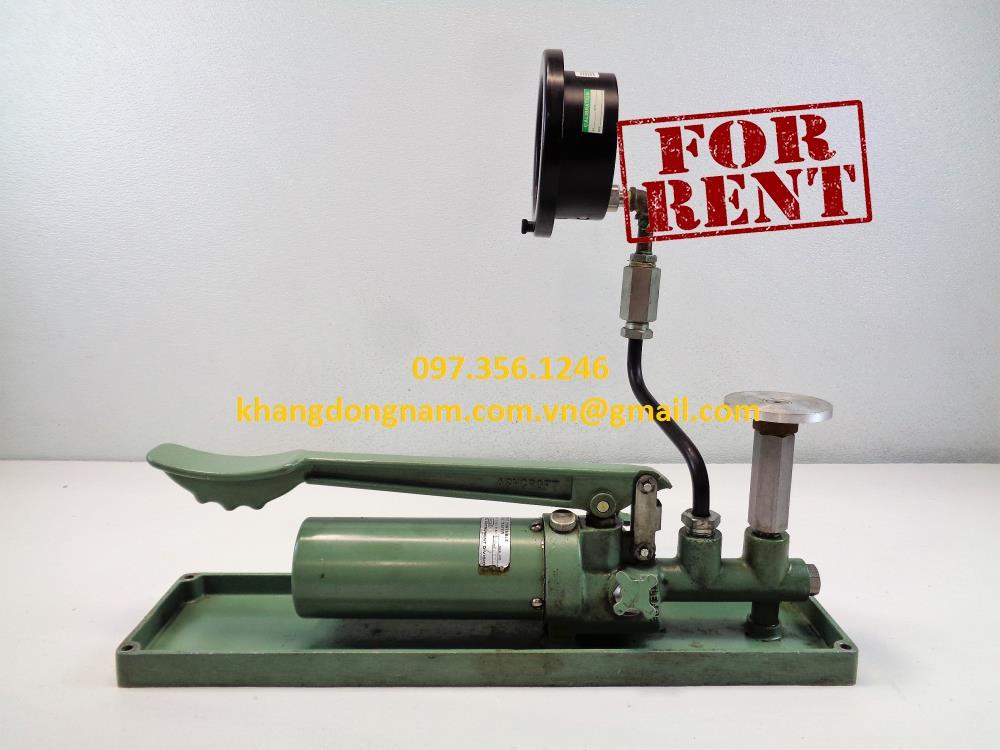 Cho Thuê Bơm Thủy Lực Cầm Tay Hydraulic Pump (4)