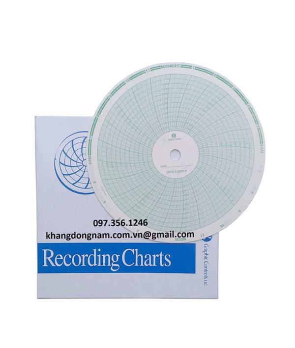 Giấy Chart Graphic Controls Ghi Biểu Đồ Tròn (2)