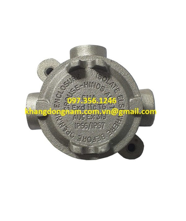 Hộp Junction Box Cooper Crouse-Hinds GUATA16M (1)