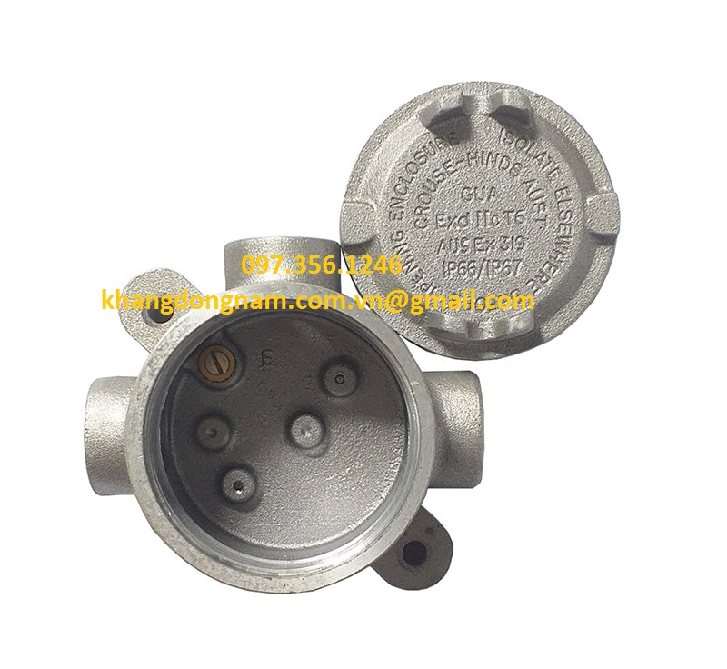 Hộp Junction Box Cooper Crouse-Hinds GUATA16M (2)