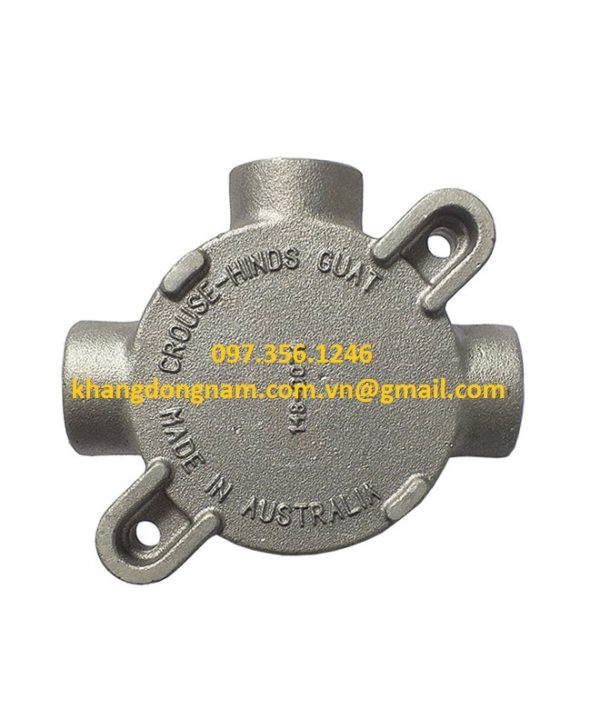 Hộp Junction Box Cooper Crouse-Hinds GUATA16M (3)