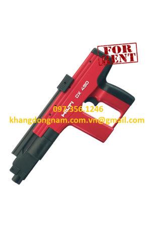 Cho Thuê Súng Bắn Đinh Hilti DX 350 Và DX 450 (1)