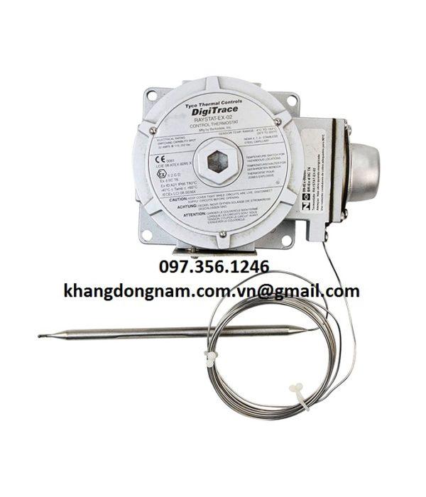 Cảm Biến Nhiệt Độ Digitrace RAYSTAT-EX-02 Control Thermostat (1)